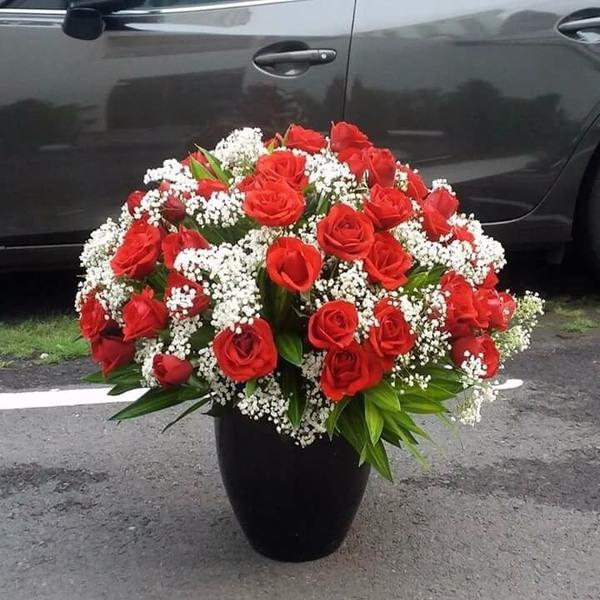 giỏ hoa đẹp 706