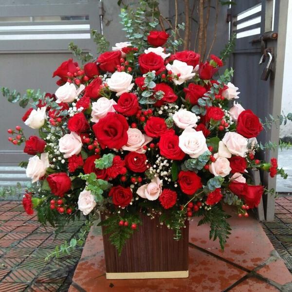 giỏ hoa đẹp 720