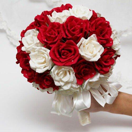 Hoa cầm tay cô dâu tại quận 3