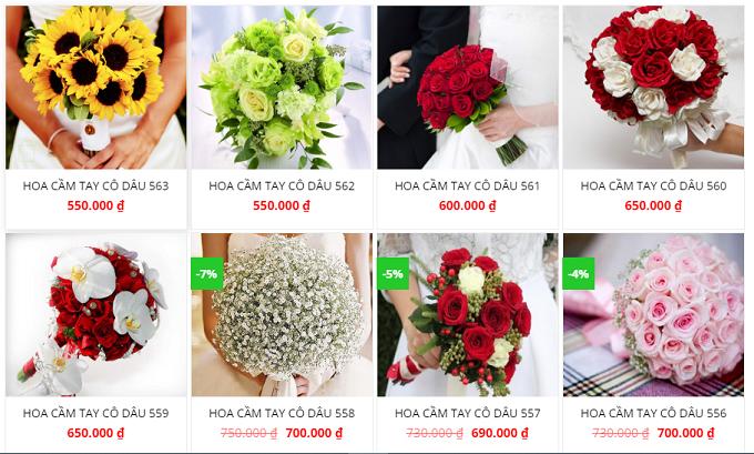 shop hoa tại Hải Phòng