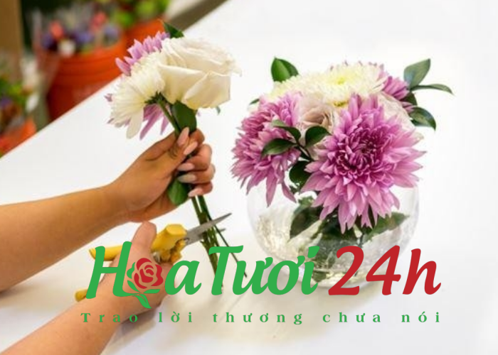 Hoa tươi đẹp Tphcm