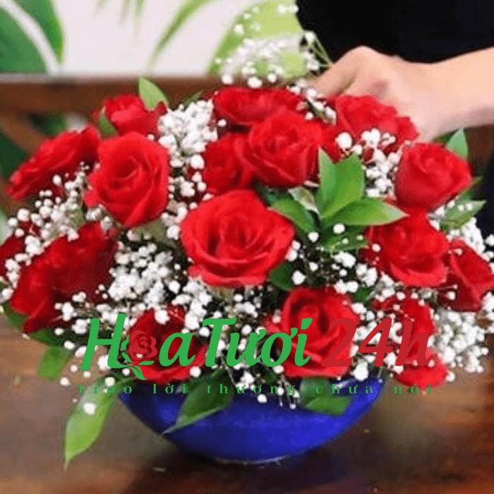 5 loại chọn hoa trang trí phòng khách siêu đẹp và thu hút