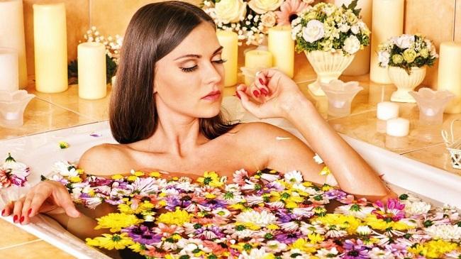 làm đẹp từ hoa cúc 2
