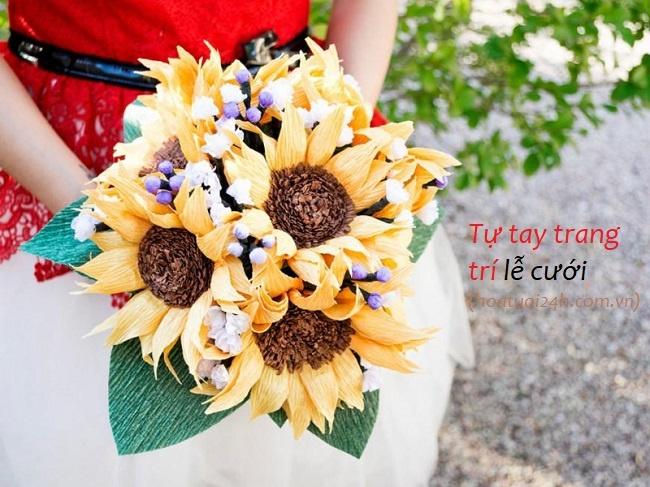 giảm chi phí hoa cưới
