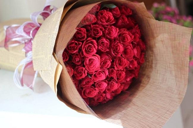 Tặng hoa sinh nhật cho ông bà