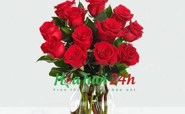 Mẹo giữ hoa hồng tươi lâu hơn