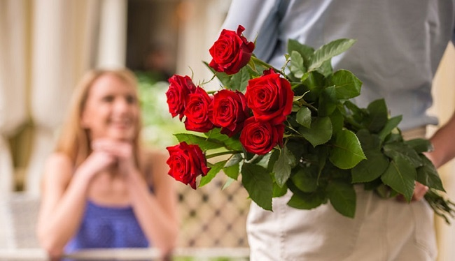 Tư vấn tặng hoa cho lần hẹn đầu tiên