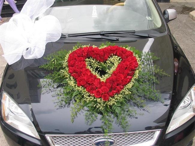 giữ xe hoa luôn đẹp khi đón dâu xa 1