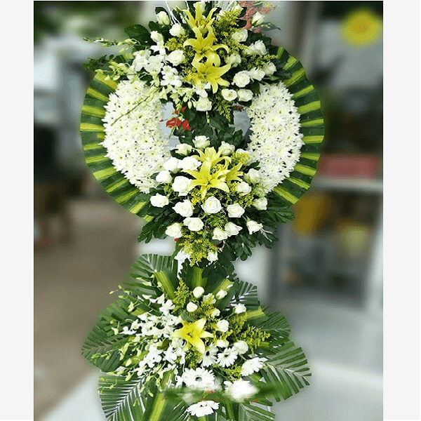 Tặng hoa gì phù hợp với đám tang