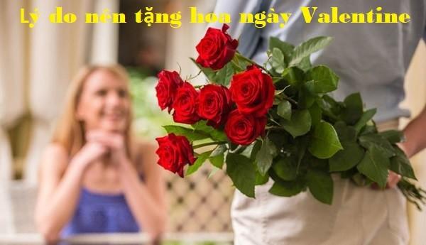 lý do nên tặng hoa ngày Valentine