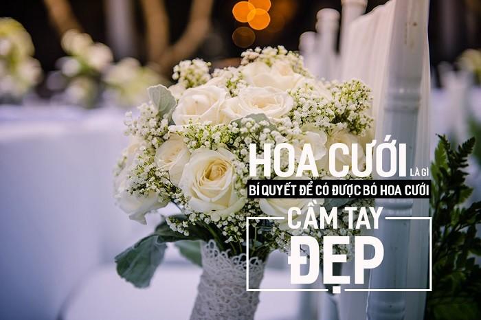 hoa cưới cầm tay có ý nghĩa gì