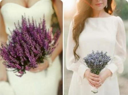 Hoa Oải Hương cưới cầm tay