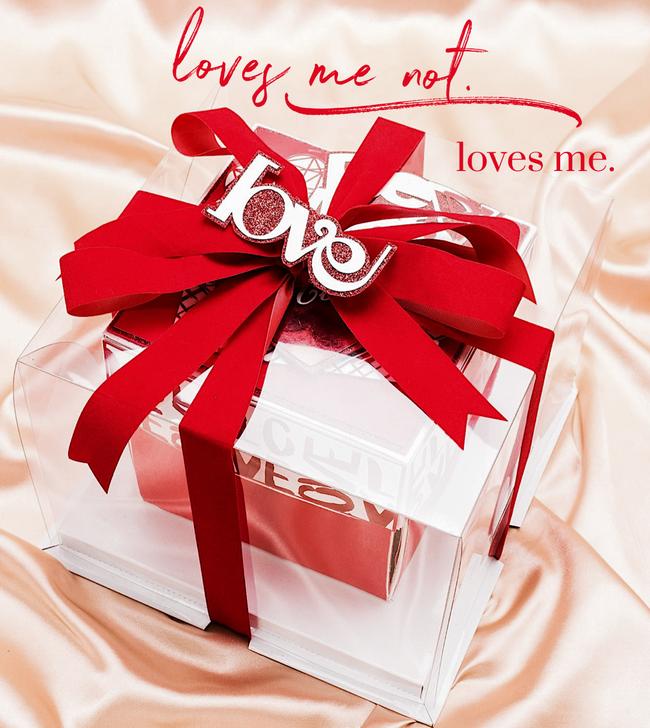 trang trí hộp quà valentime khác lạ