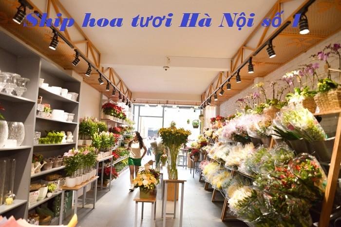 ship hoa tươi Hà Nội