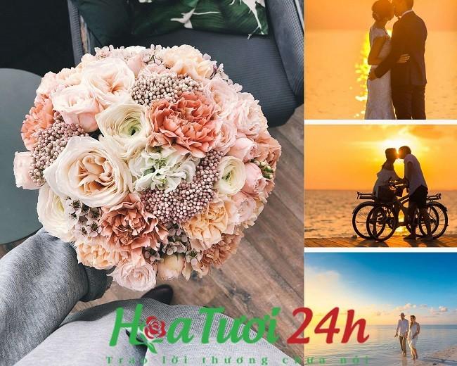 hoa kỷ niệm ngày cưới đẹp nhất