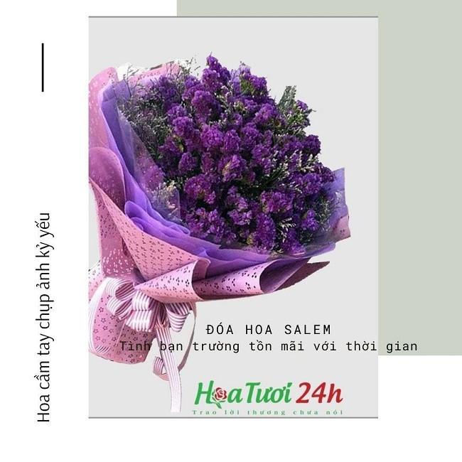 hoa salem cầm tay kỷ yếu đẹp