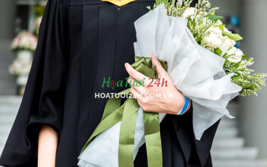 Hoa mừng tốt nghiệp