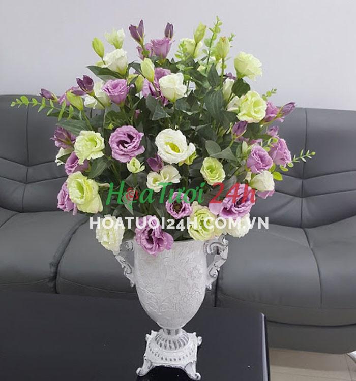 Chúc mừng tân gia nên chọn hoa gì