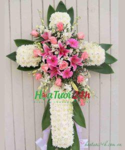 Hoa đi đám tang đạo thiên chúa