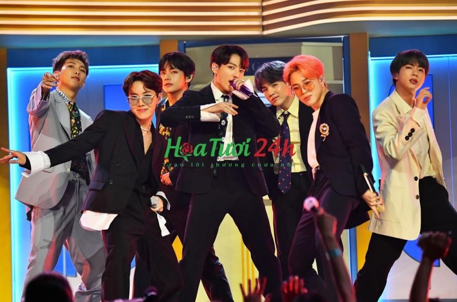 Loài hoa tượng trưng cho các thành viên BTS